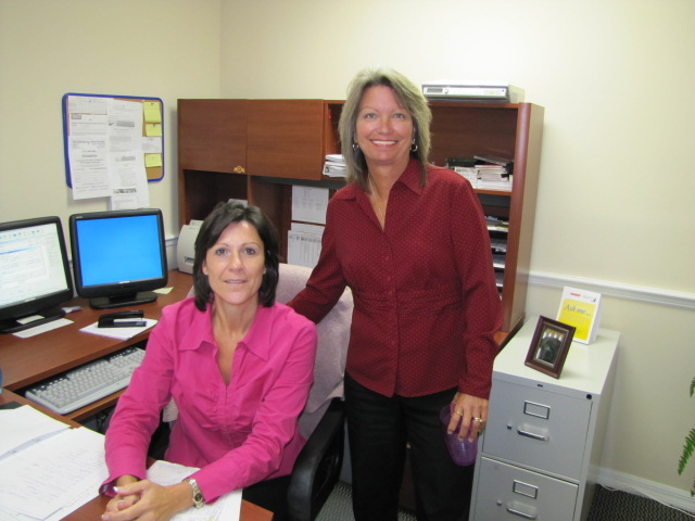 Leanne and Kathy with Walden Insurance